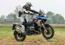 BMW R 1200 GS Rallye Movimento