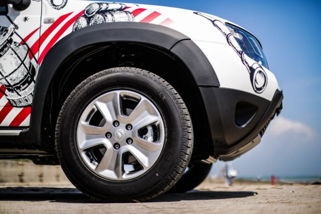 Dacia Duster Strongman dettaglio