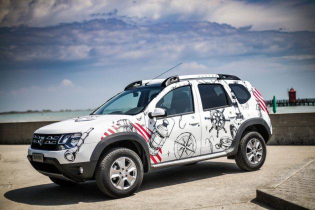 Dacia Duster Strongman statica