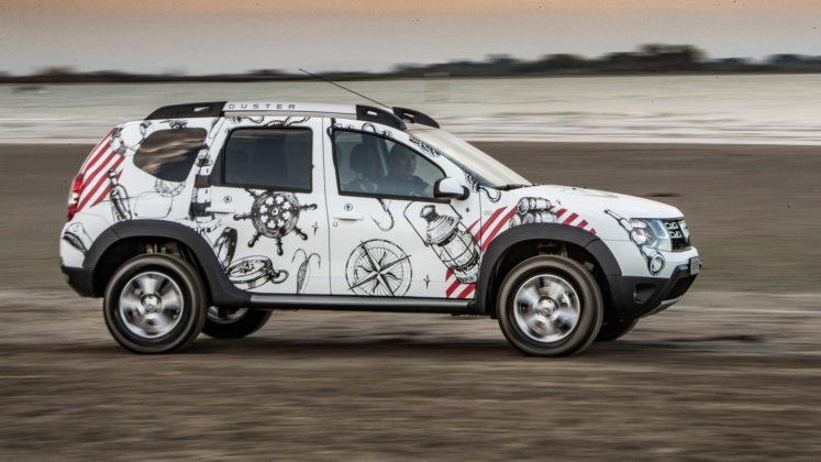 Dacia Duster Strongman dinamica