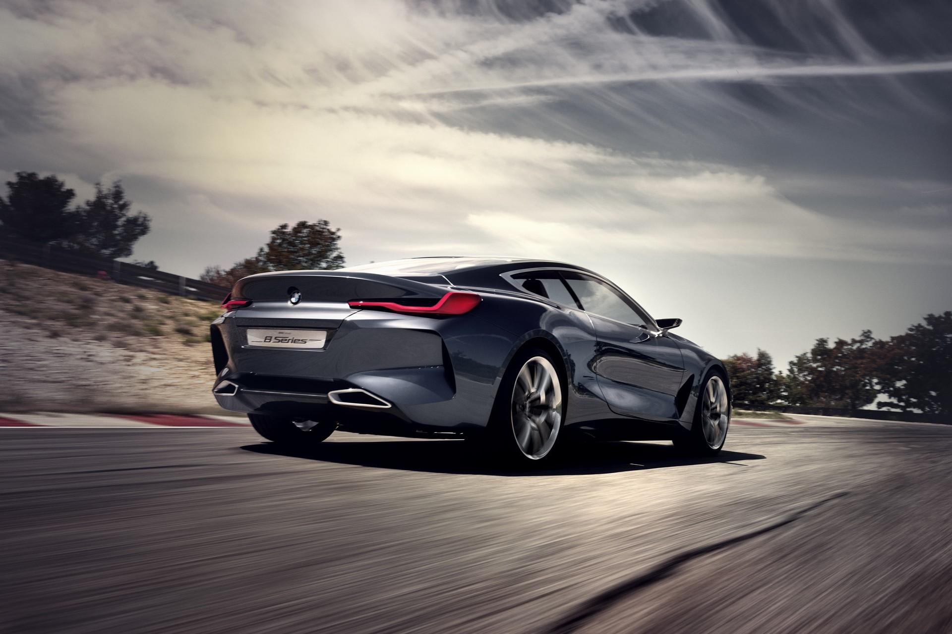 BMW Serie 8 dinamica