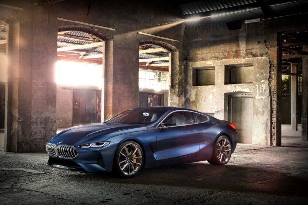BMW Serie 8 statica