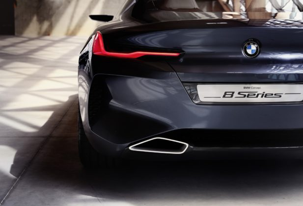 BMW Serie 8 dettaglio