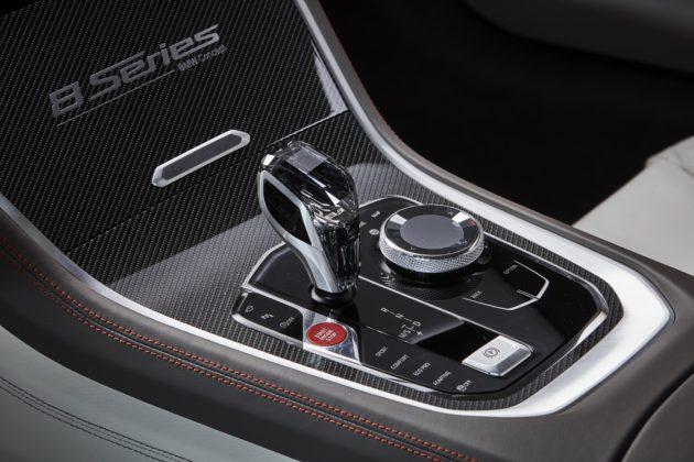 BMW Serie 8 interni