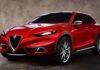 Alfa Romeo C-SUV rendering