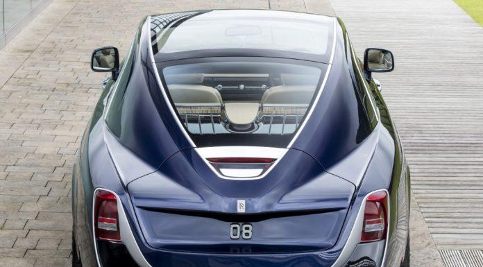 Rolls-Royce Sweptail statica
