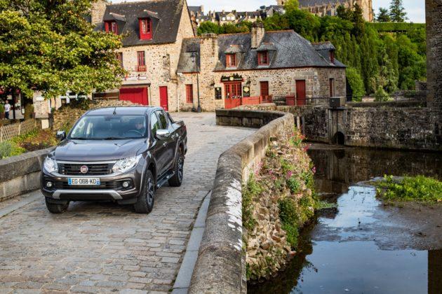 Fiat Fullback bretagna dinamica borgo città