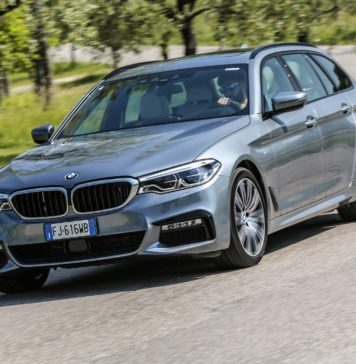 BMW Serie 5 Touring MY17 dinamica