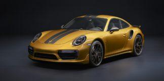 Porsche 911 Turbo S Exclusive Series statica