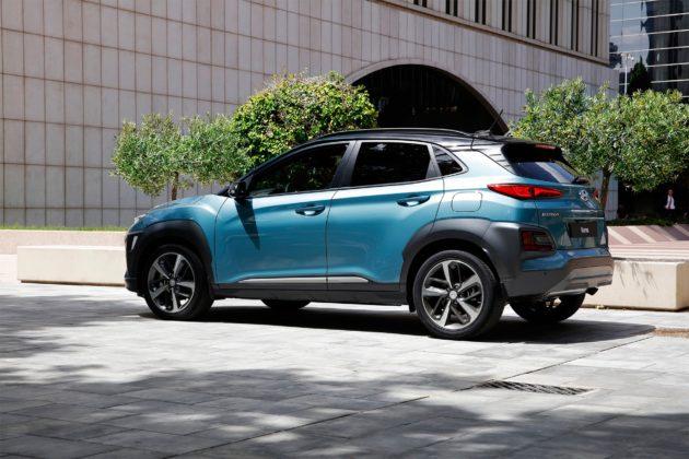 Hyundai Kona statica
