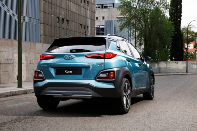 Hyundai Kona dinamica