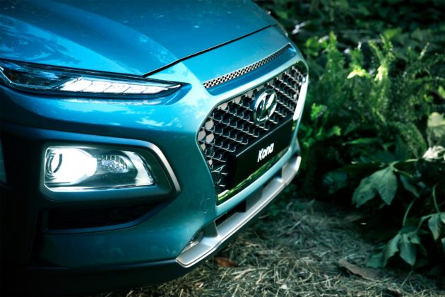 Hyundai Kona dettaglio