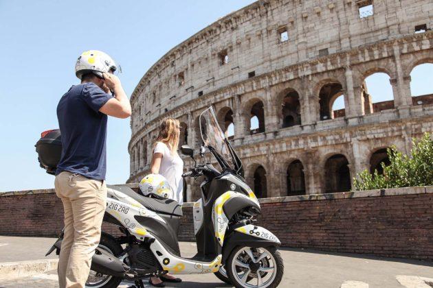 Yamaha Zig Zag Scooter Sharing - Roma