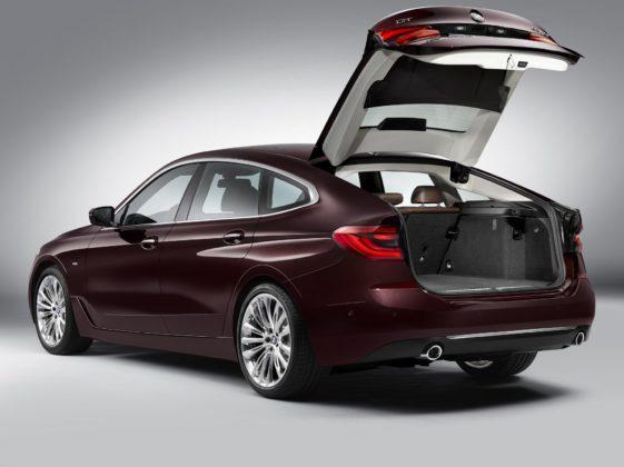 BMW Serie 6 GT statica