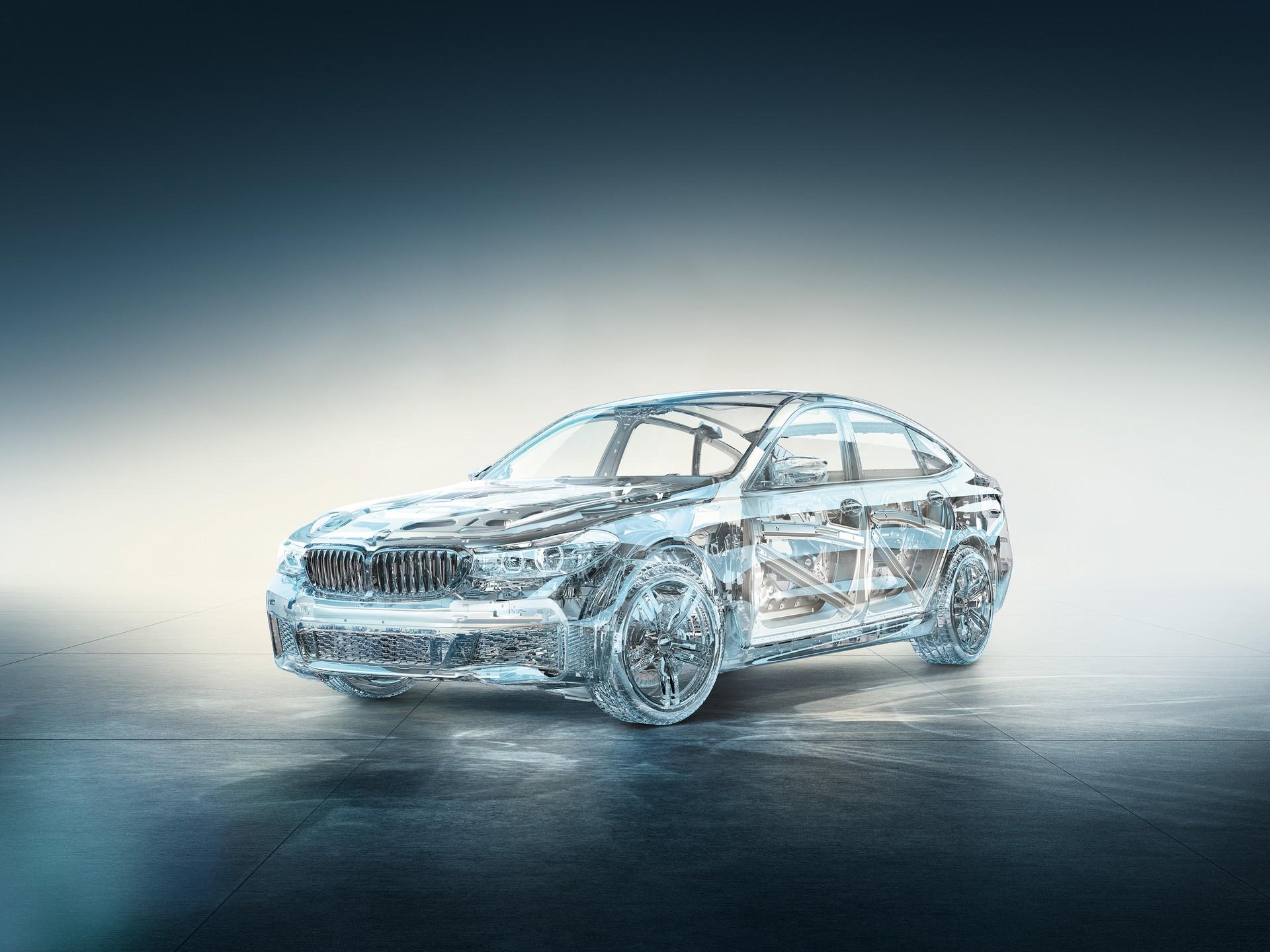 BMW Serie 6 GT tecnica