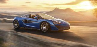 McLaren 570S Spider dinamica