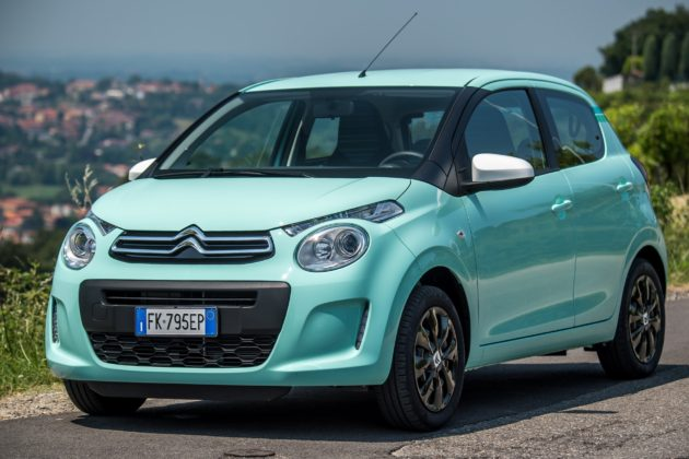Citroën C1 Pacific Edition statica