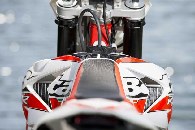 Betamotor RR 2018 vista posteriore