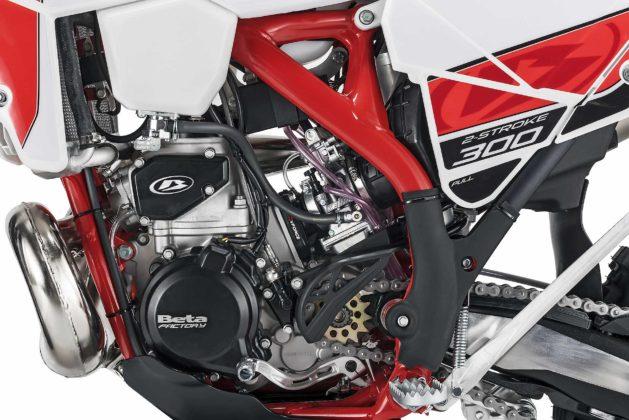 Betamotor RR 300 2018 particolare motore