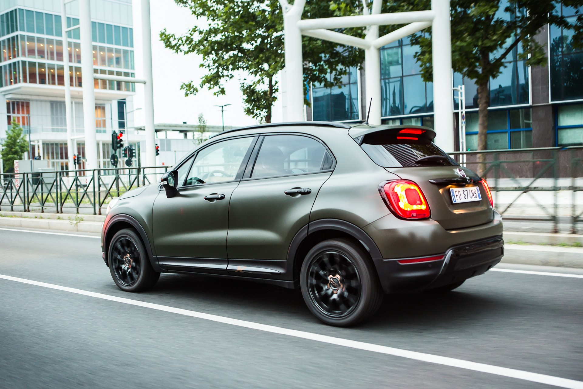 La nuova fiat 500x s design for S design photo