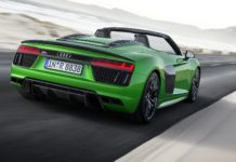 Audi R8 Spyder 5.2 V10 Plus dinamica