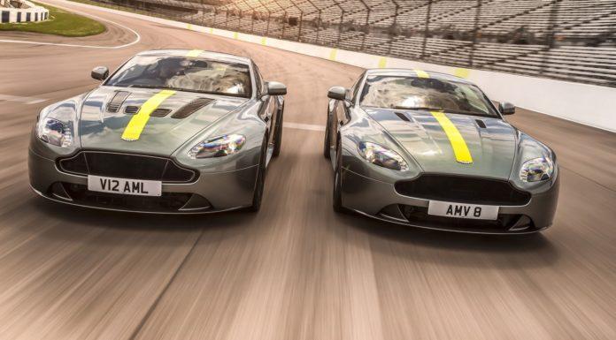 Aston Martin Vantage AMR dinamica