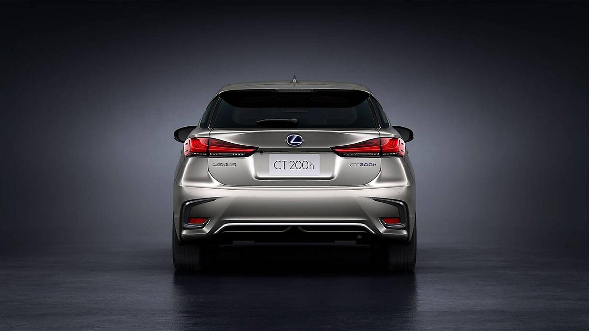 la nuova berlina ibrida lexus ct200h
