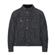 Giacca da moto Bellstaff Velocette Denim in jeans nero