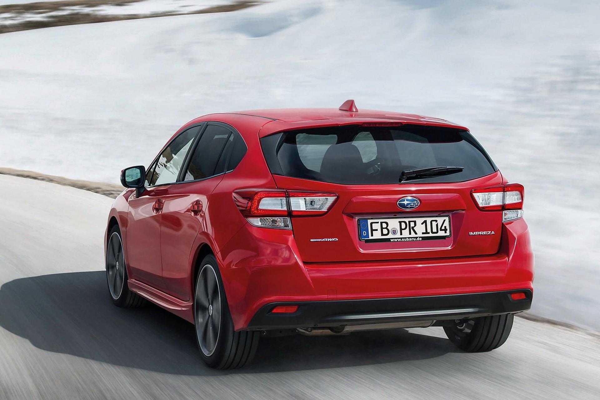 Subaru Impreza 2018 dinamica