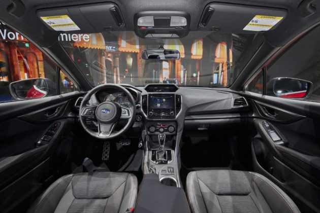 Subaru Impreza 2018 interni