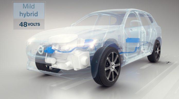 Volvo Mild Hybrid piattaforma