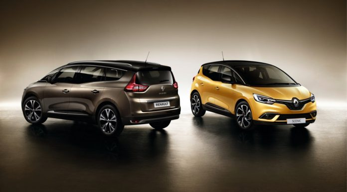 Renault Scenic statica