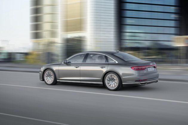 Audi A8 L dinamica
