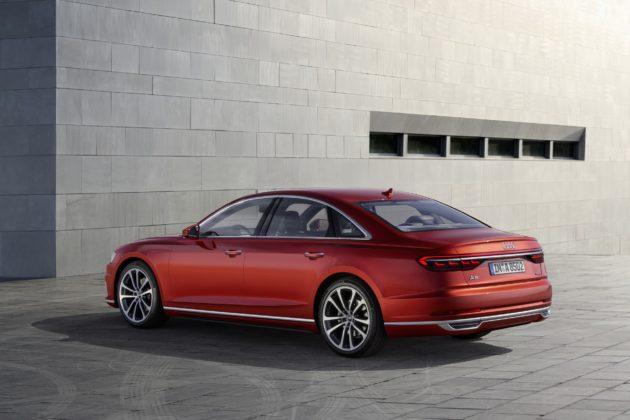 Audi A8 statica