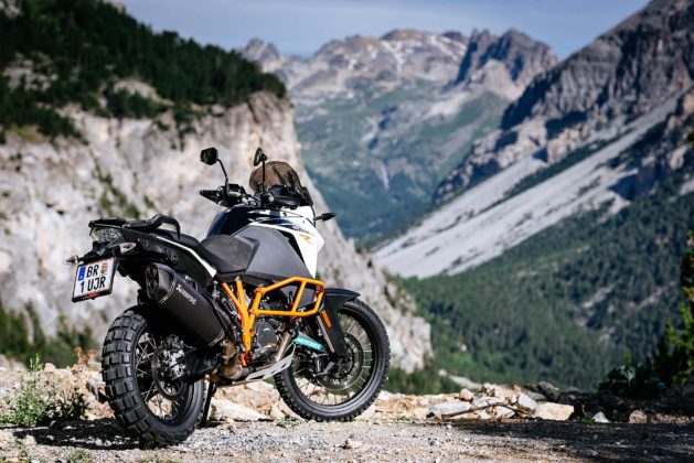 ktm 1090 adventure r vista laterale