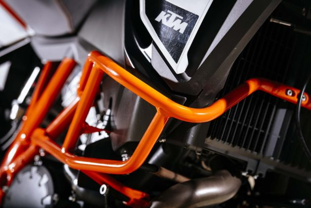 ktm 1290 super adventure r barre motore