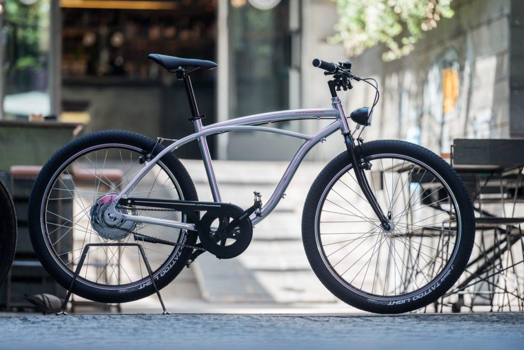 Moto Morini Limited e-Bike, vista laterale