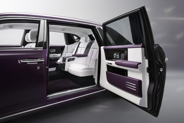 Rolls-Royce Phantom interni