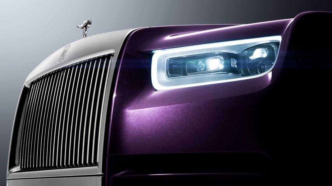 Rolls-Royce Phantom dettaglio