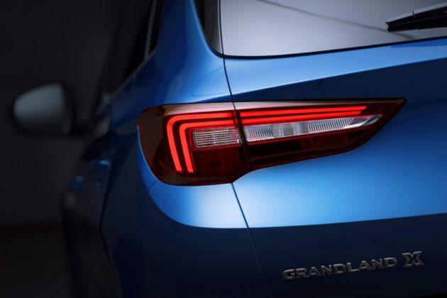 Opel Grandland X, dettaglio faro posteriore statica