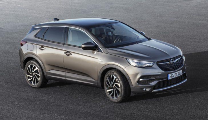 Opel Grandland X, tre quarti anteriore statica
