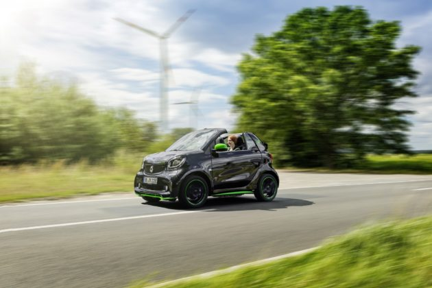 smart fortwo ED dinamica