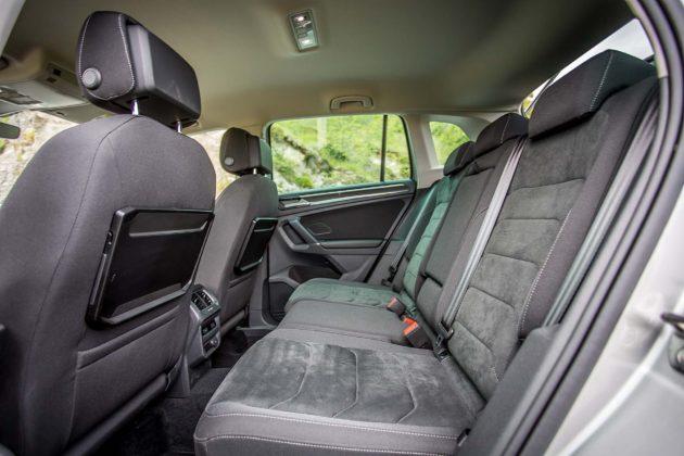 Volkswagen Tiguan 2.0 BiTDI - divano posteriore