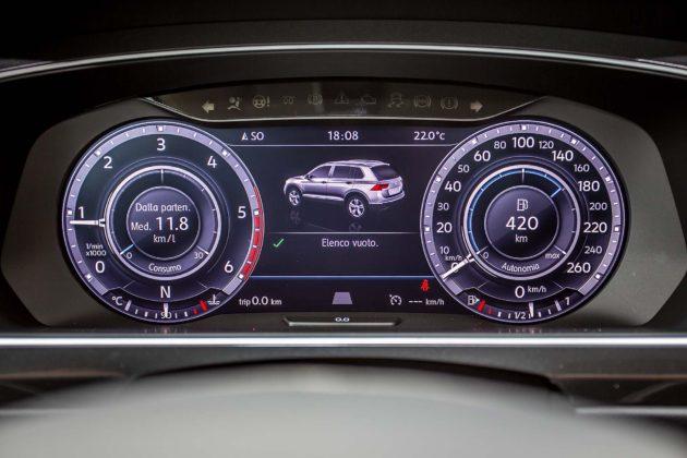 Volkswagen Tiguan 2.0 BiTDI - strumentazione