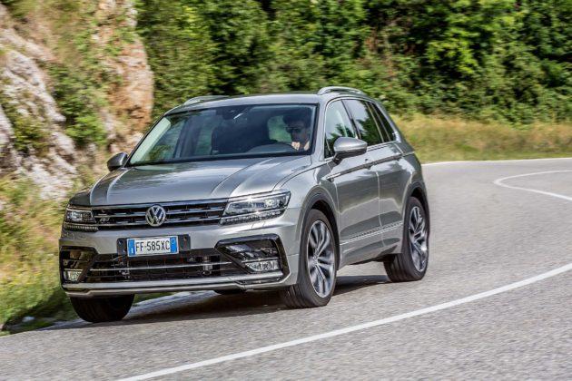 Volkswagen Tiguan 2.0 BiTDI - frontale
