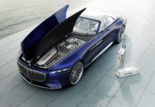 Mercedes-Maybach Vision 6 Cabriolet statica