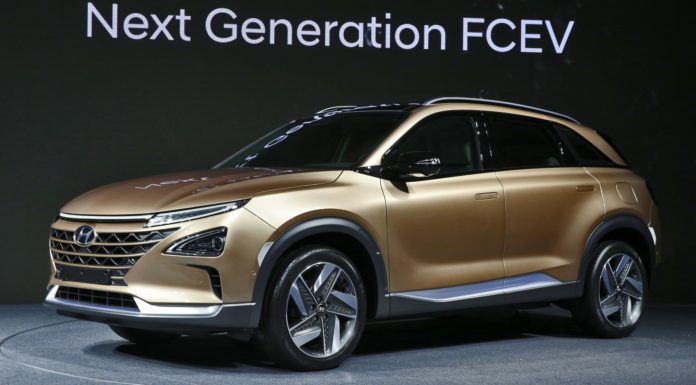 Hyundai Next Generation FCEV statica