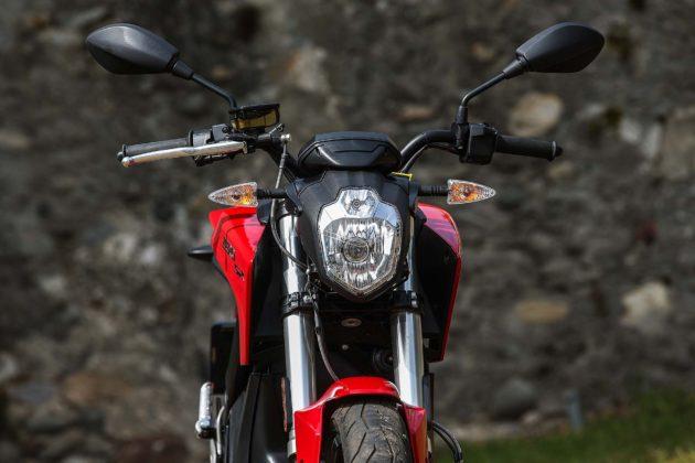 Zero Motorcycles SR - frontale