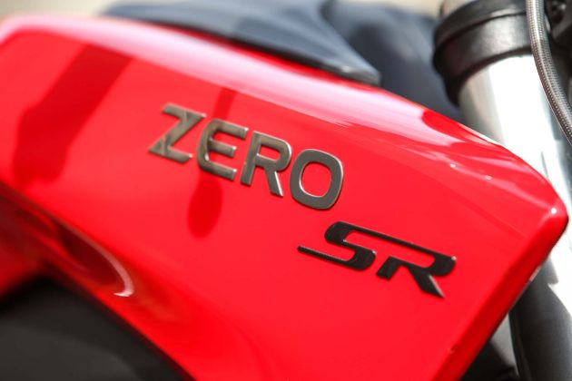 Zero Motorcycles SR - marchio