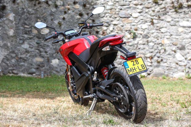 Zero Motorcycles SR - 3/4 posteriore